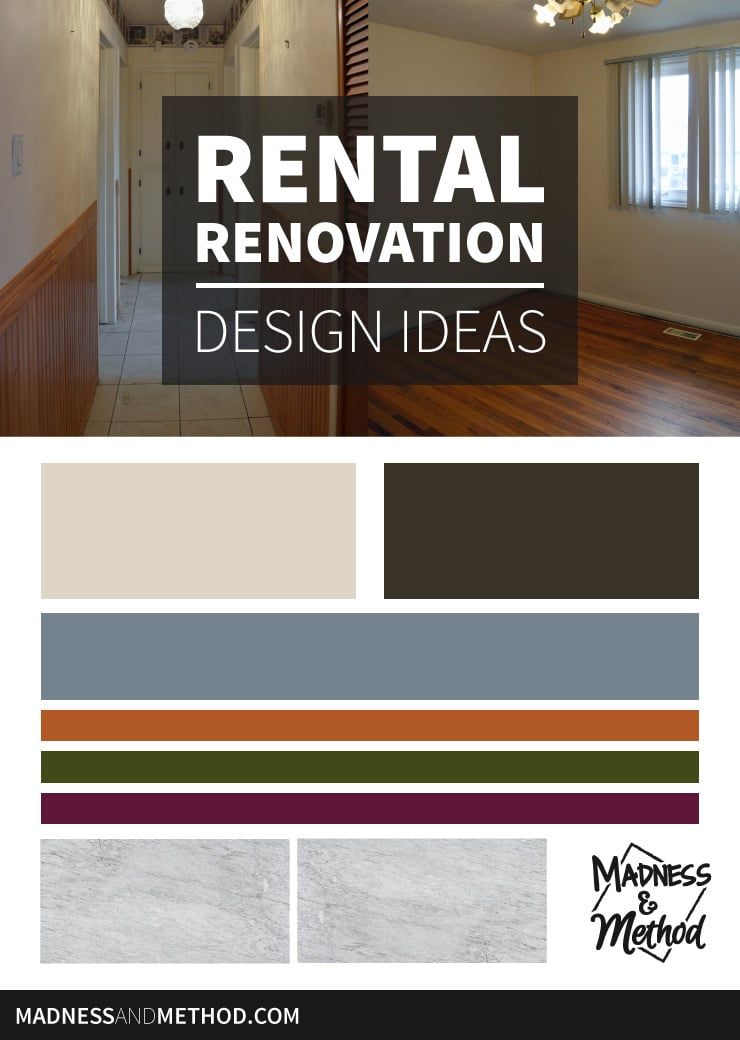 rental renovation design ideas colour graphic