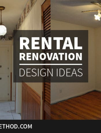 rental renovation design ideas graphic