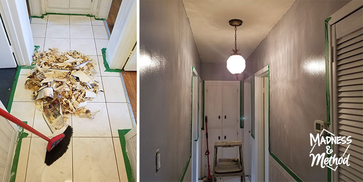 removing wallpaper border