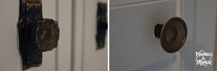 hallway doorknobs