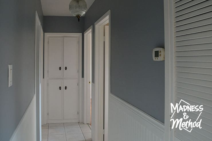 gray hallway transformation