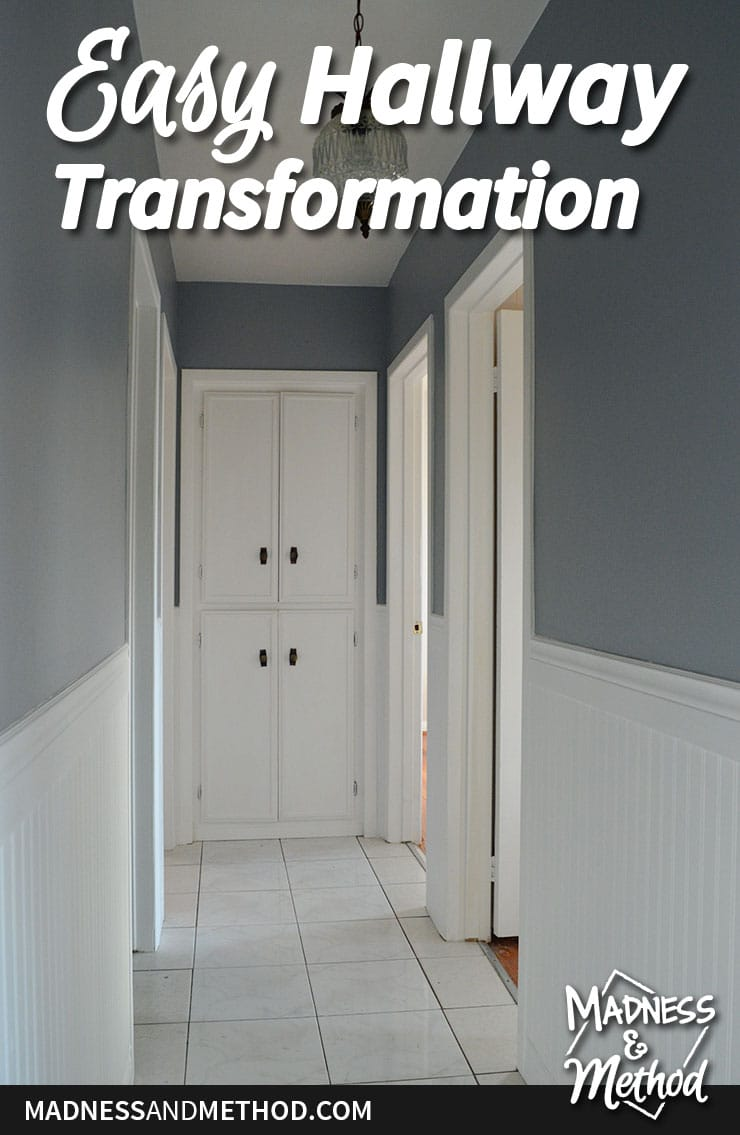 easy hallway transformation graphic