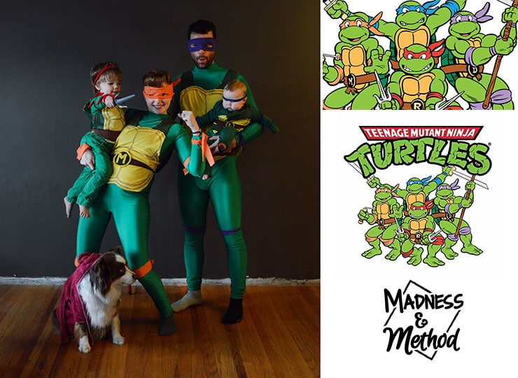 teenage mutant ninja turtle family