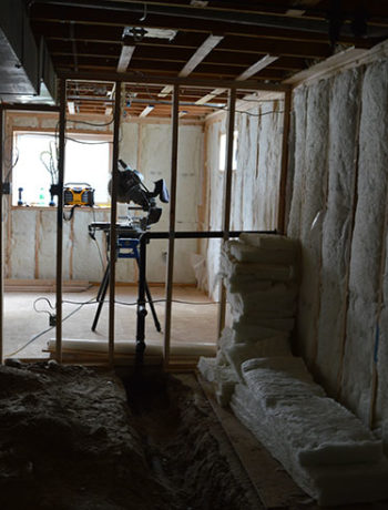 basement kitchen insulation