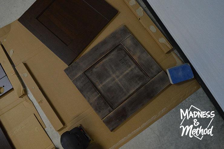 sanding ikea edserum doors