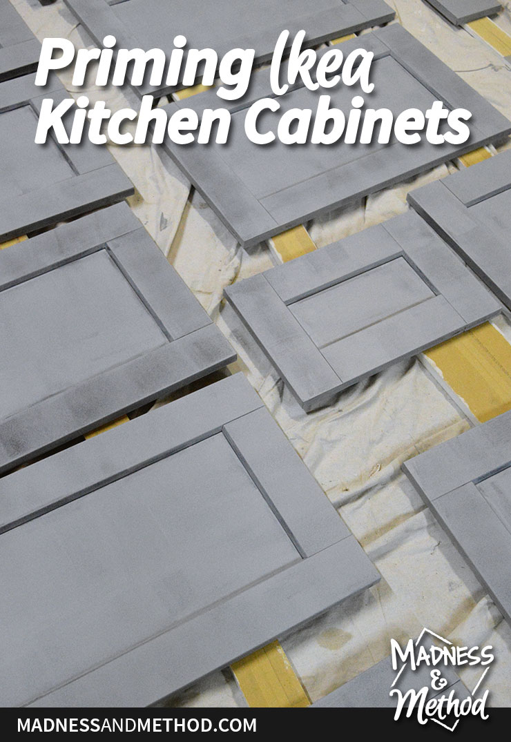 priming ikea kitchen cabinets