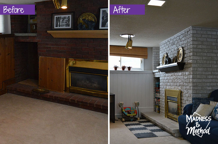 basement before after