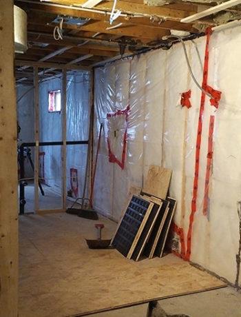 current basement kitchen photo