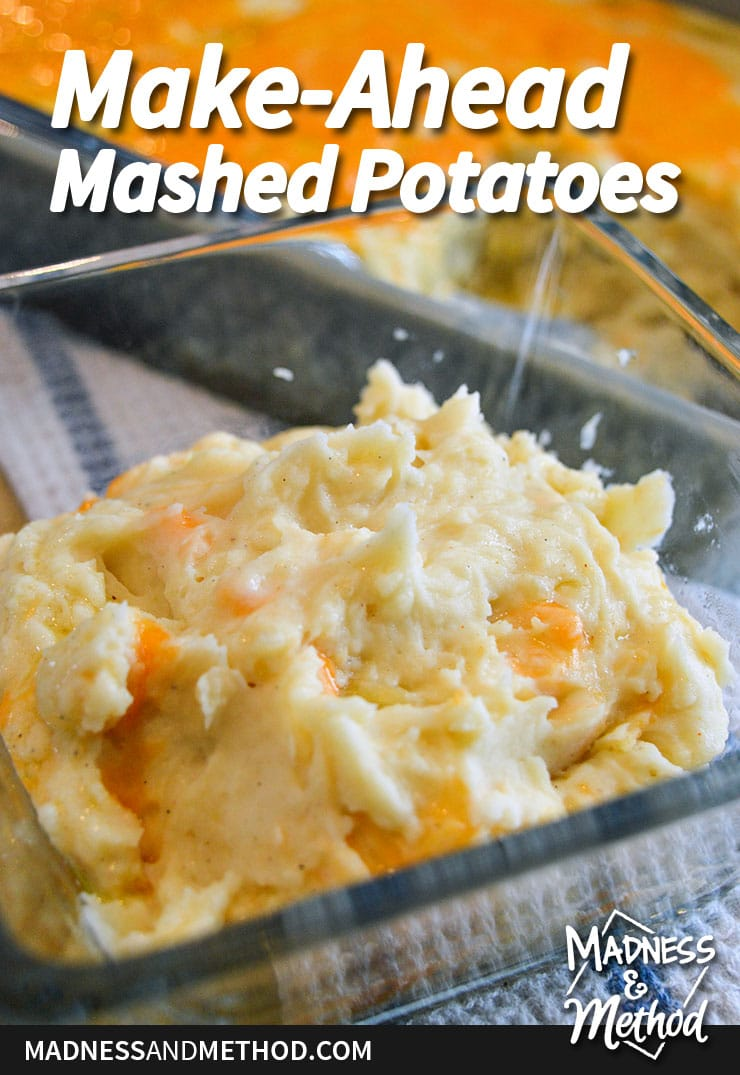 make-ahead mashed potato recipe