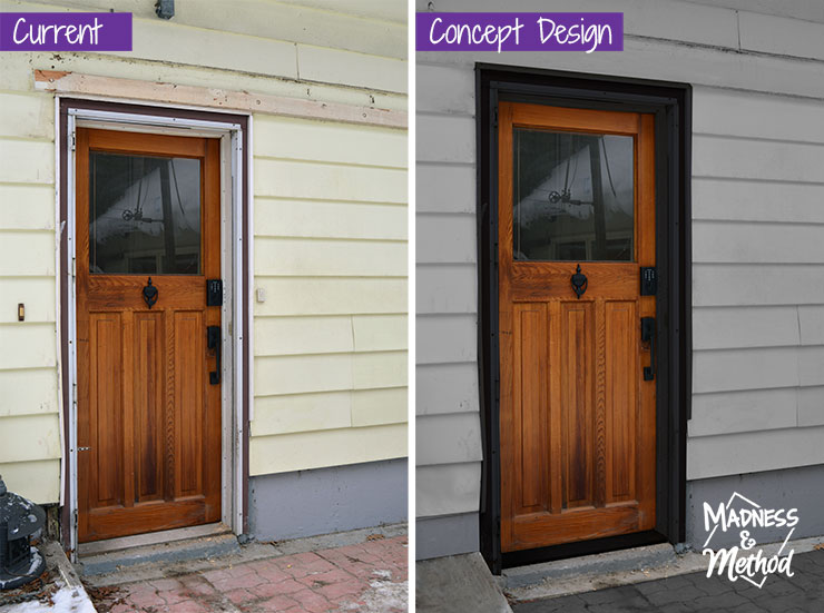 back door concept design