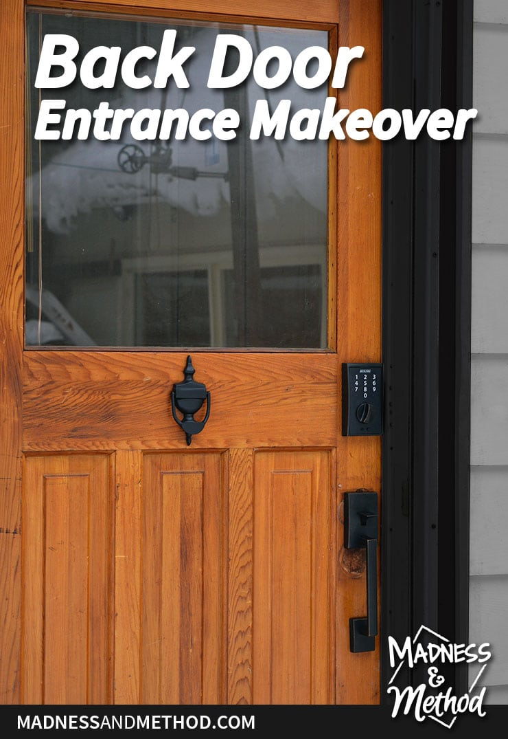 back door entrance makeover graphic