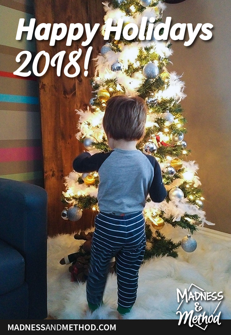 christmas tree toddler