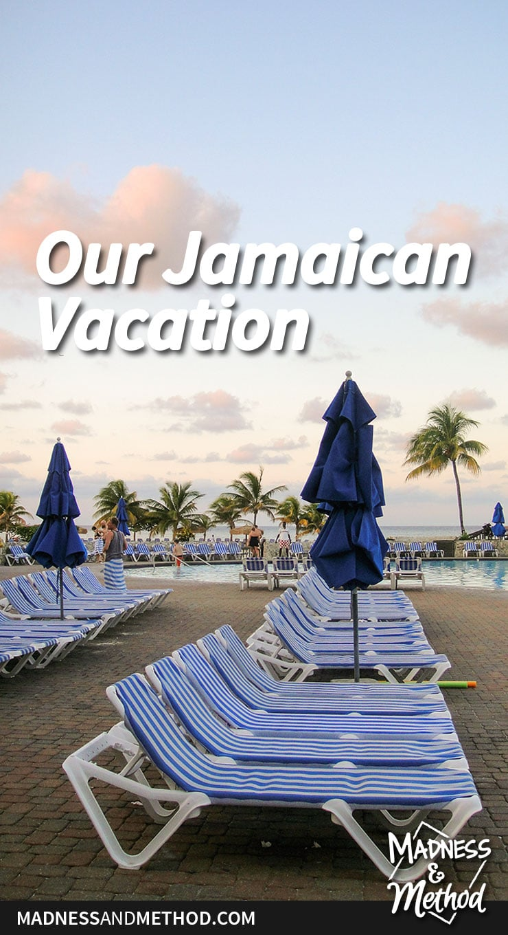 our jamaican vacation graphic
