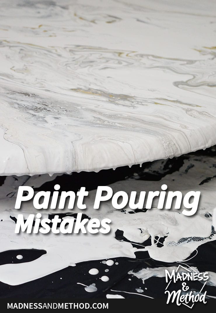paint pouring mistakes and how to fix them