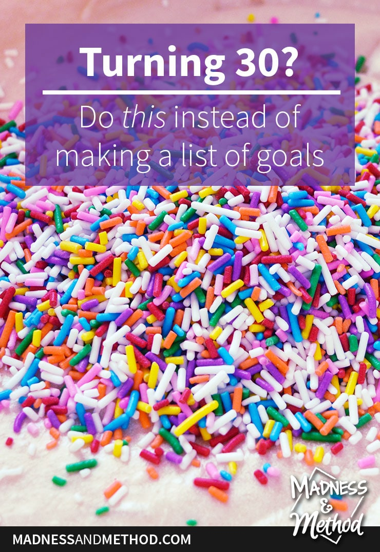 rainbow sprinkles graphic 30 things about me