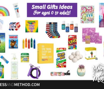 small gift ideas graphic