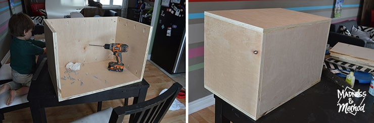 building nightstand boxes