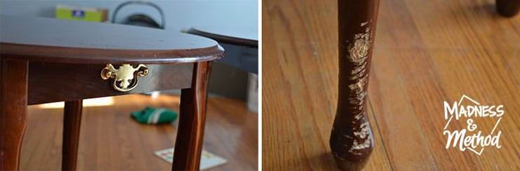 areas to fix on nightstands