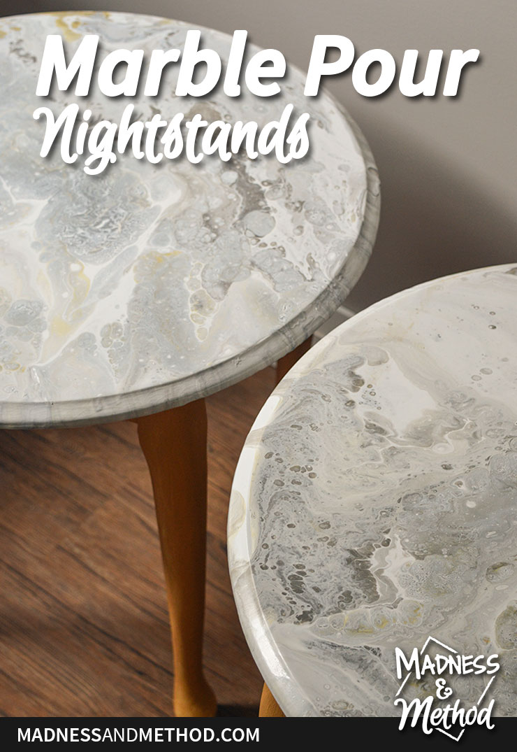 marble pour nightstands graphic