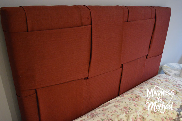 basketweave headboard