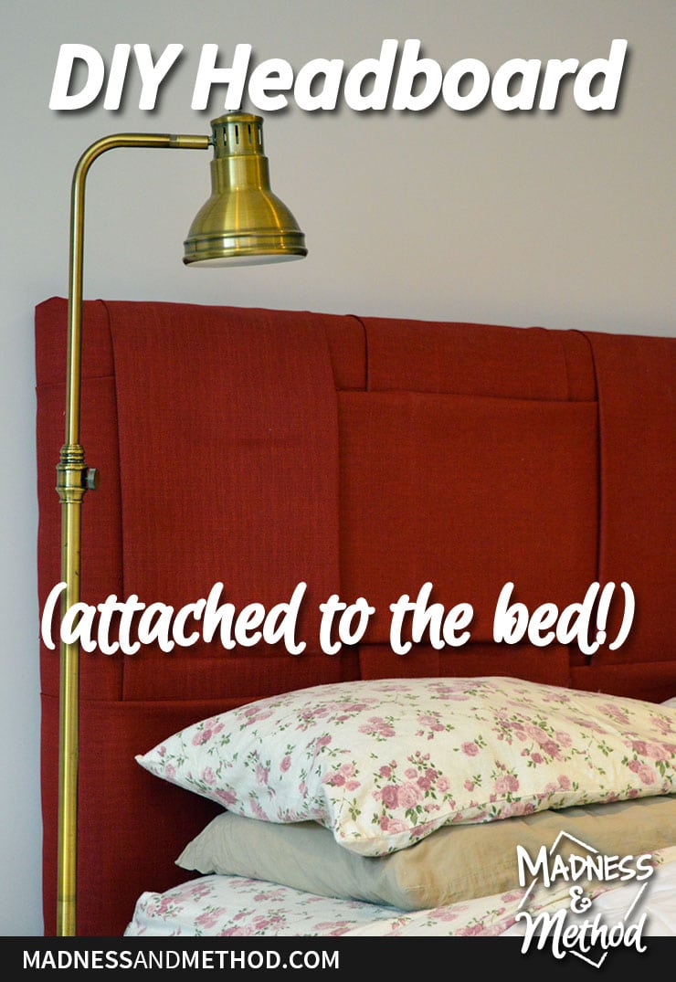 building headboard attached to bed graphic