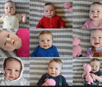 baby girl photo milestones