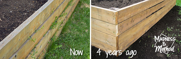 raised garden bed sides