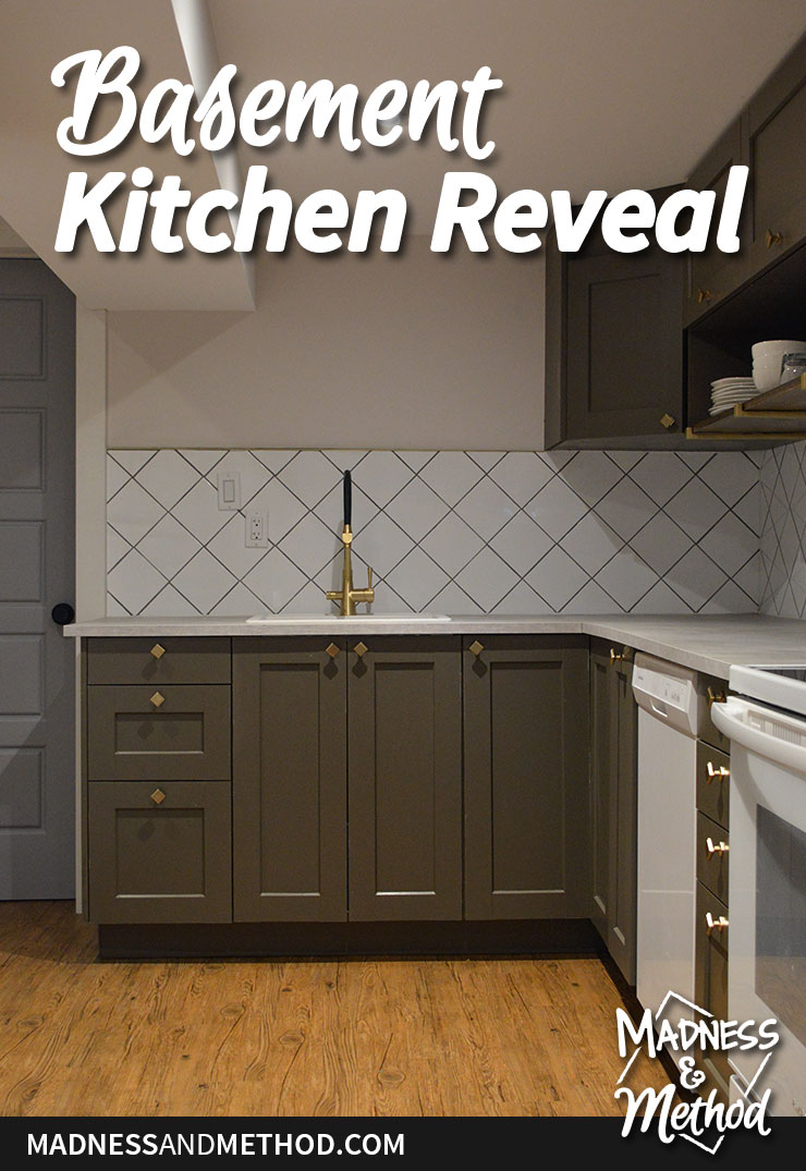 basement kitchen reveal graphic