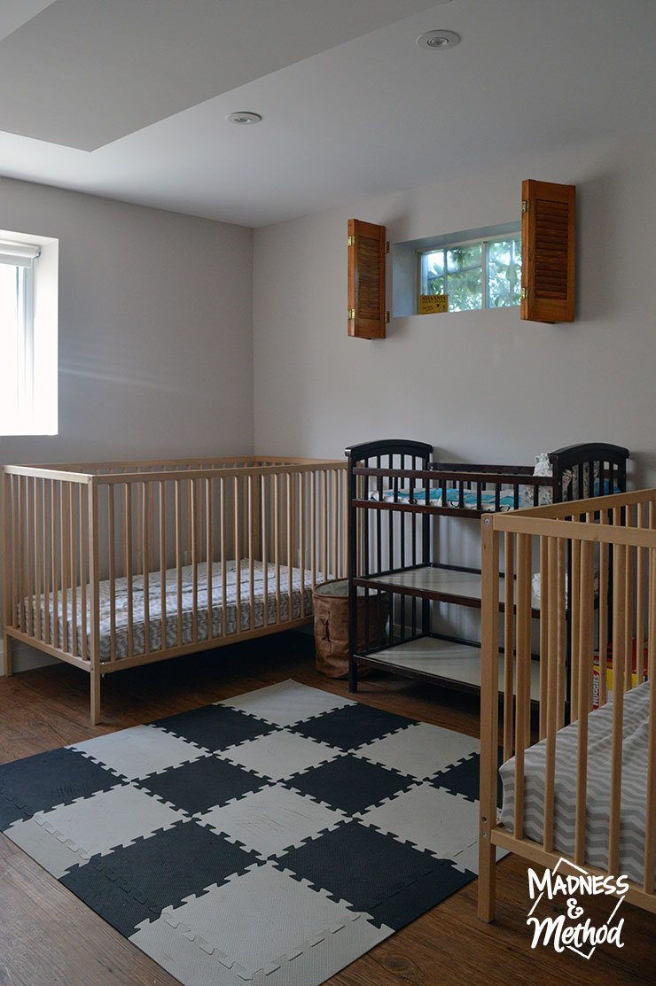 baby bedroom in rental home