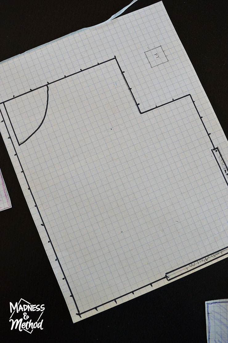 to-scale floorplan