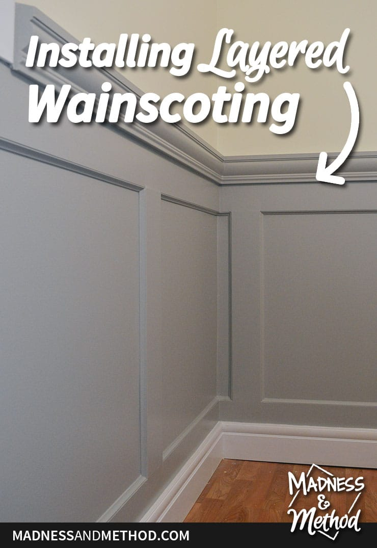 installing layered wainscoting tips