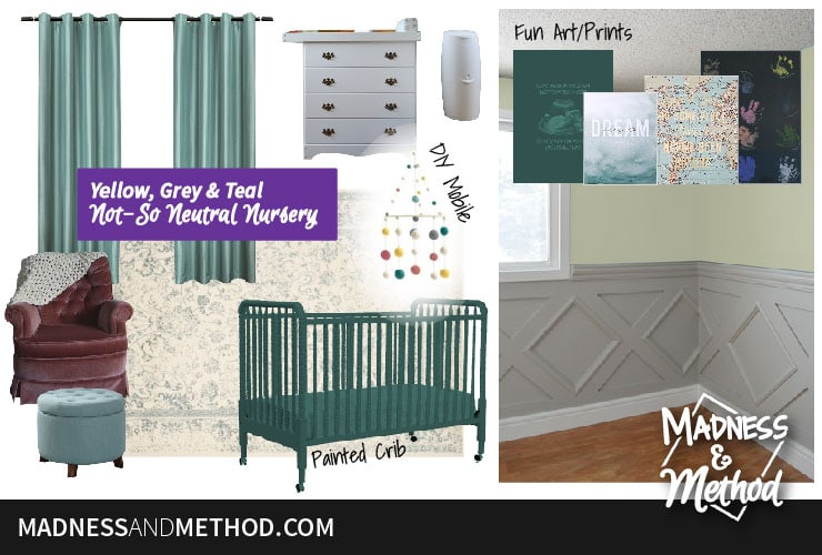 not so neutral nursery plans