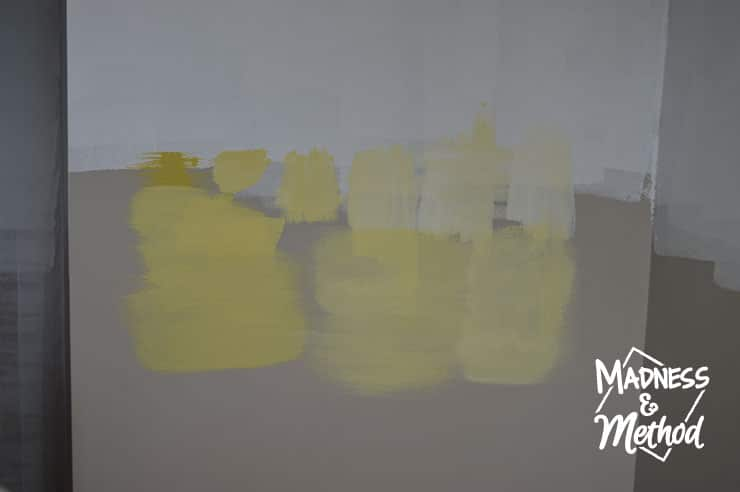 painting yellow wall colours