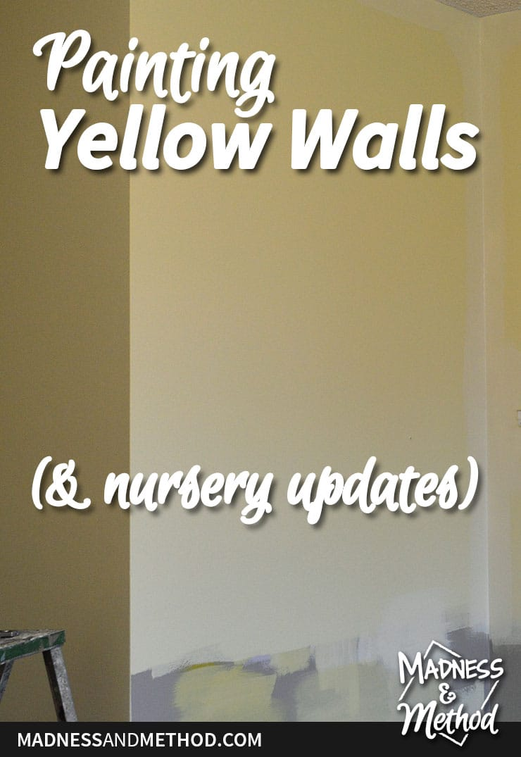 painting yellow walls graphic
