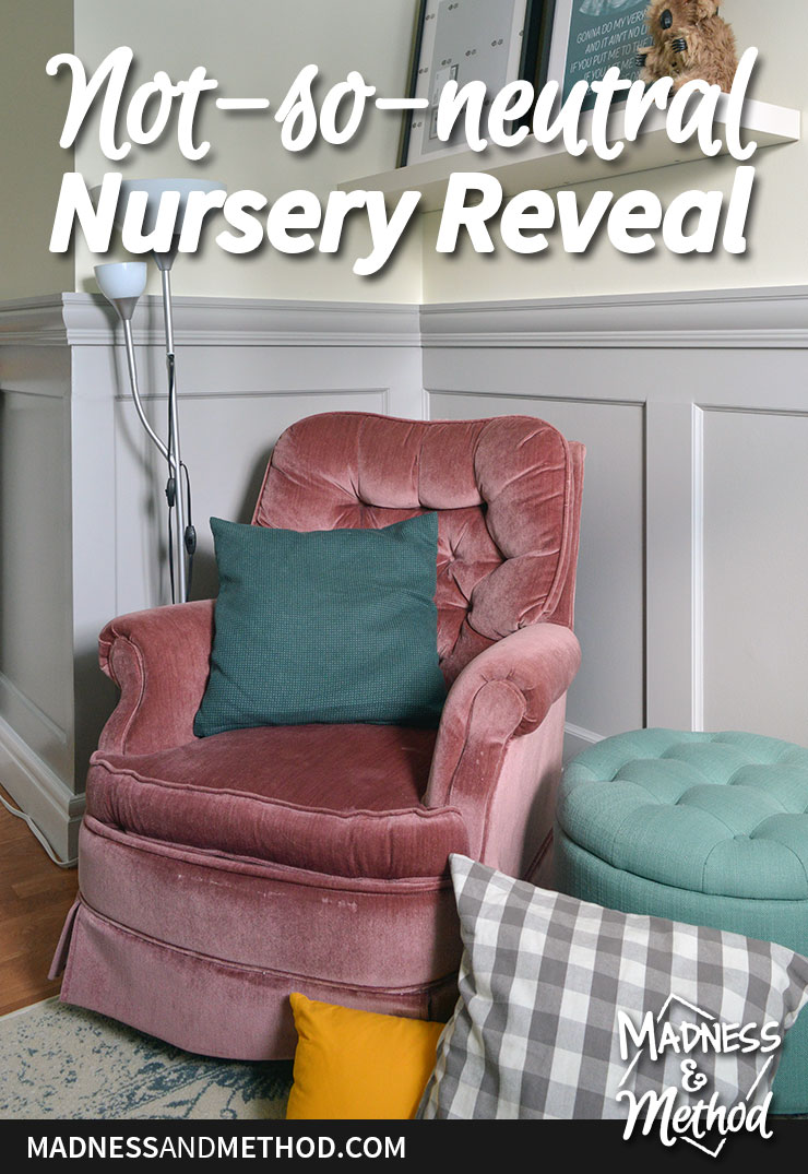 not-so-neutral nursery reveal