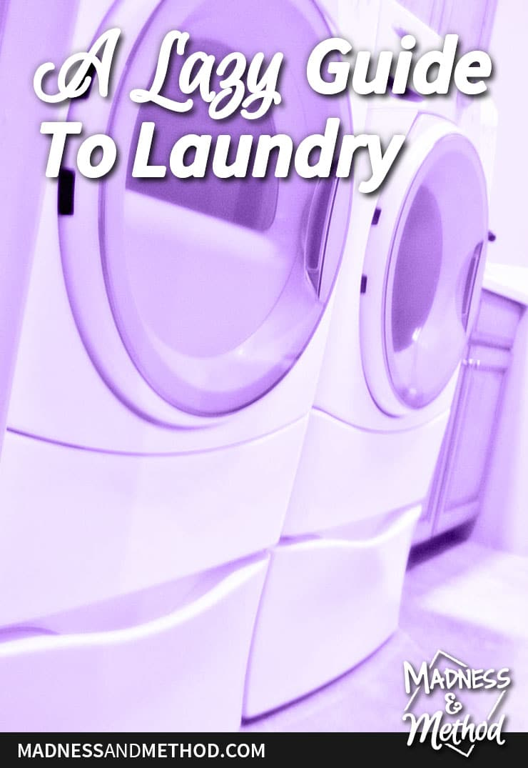lazy guide to laundry
