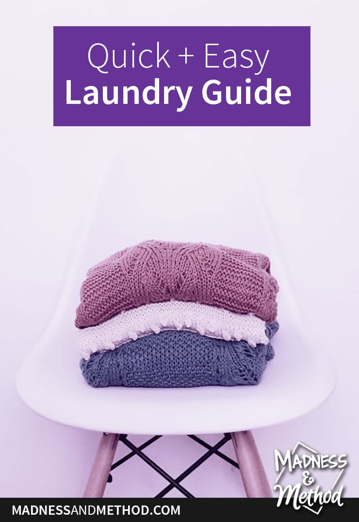 quick and easy laundry guide