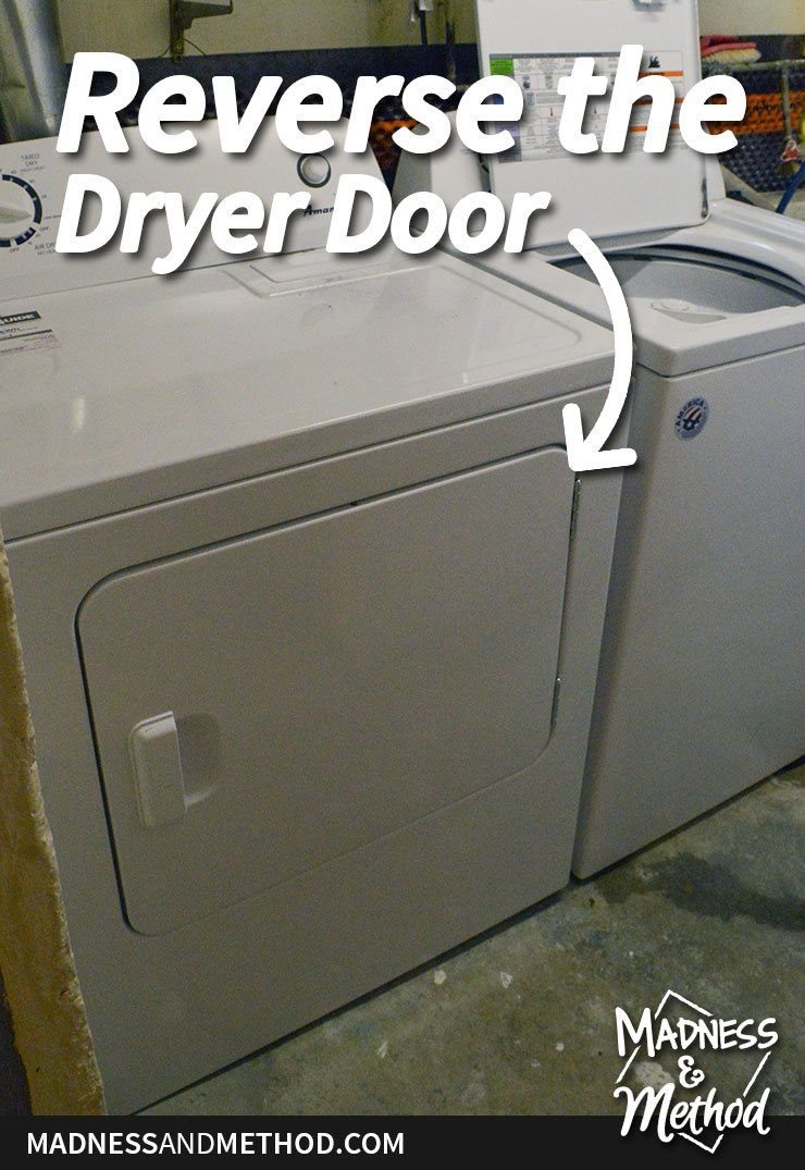 reverse a dryer door
