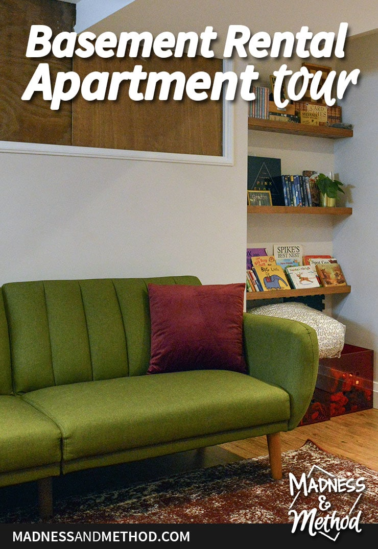 basement apartment tour