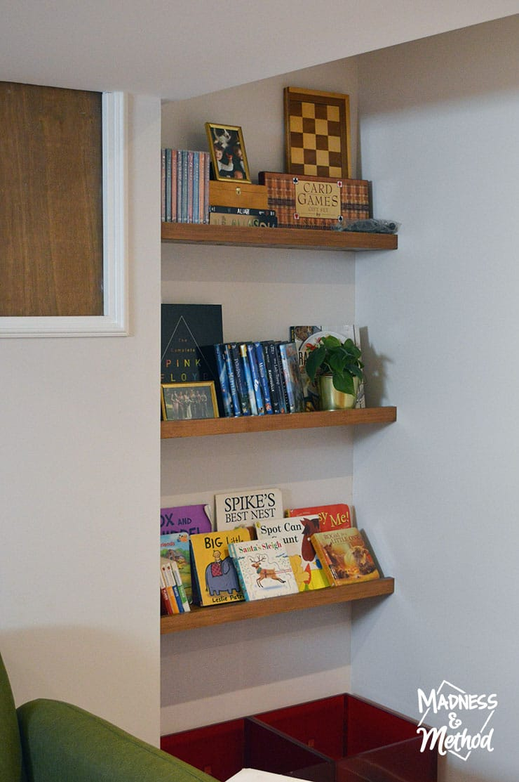 renter friendly shelves