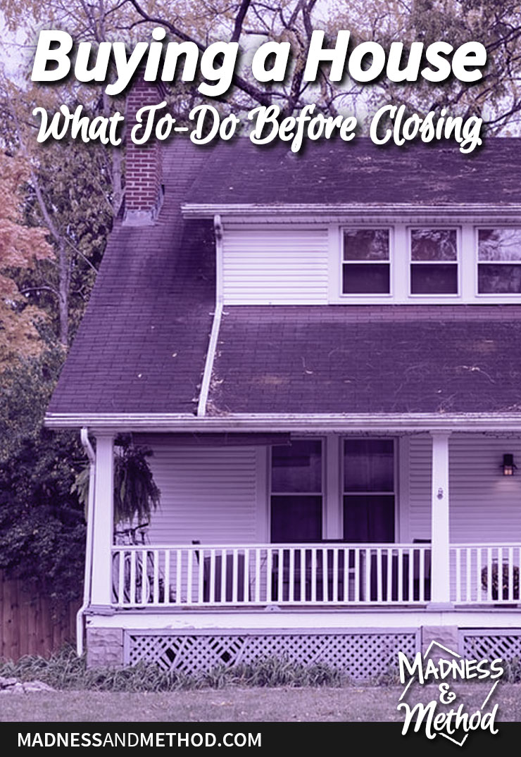 steps before buying a house