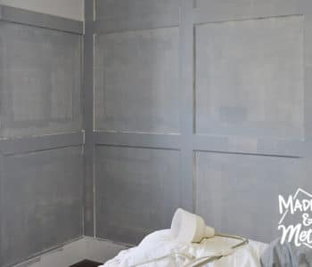 grey primed walls