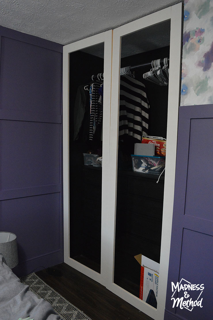 test fitting closet doors