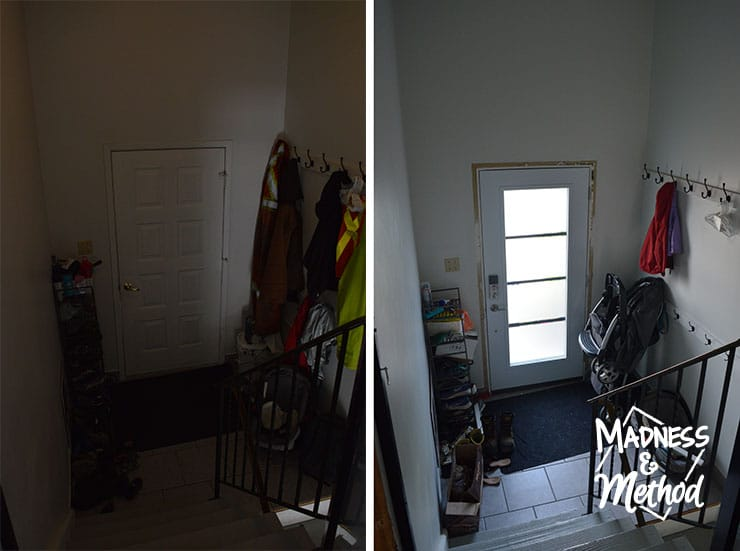 brighter front entry door comparison
