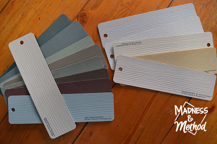 exterior siding colours