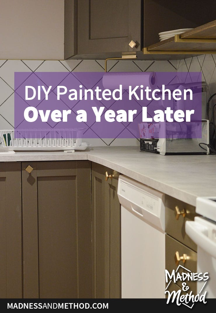 diy painted kitchen review