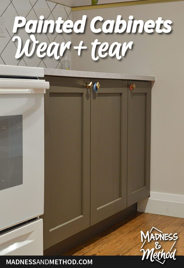 painted cabinet wear and tear graphic