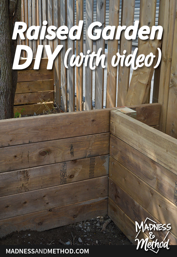 raised garden diy video