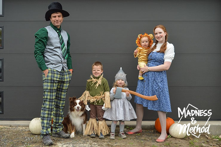 family wizard of oz costumes
