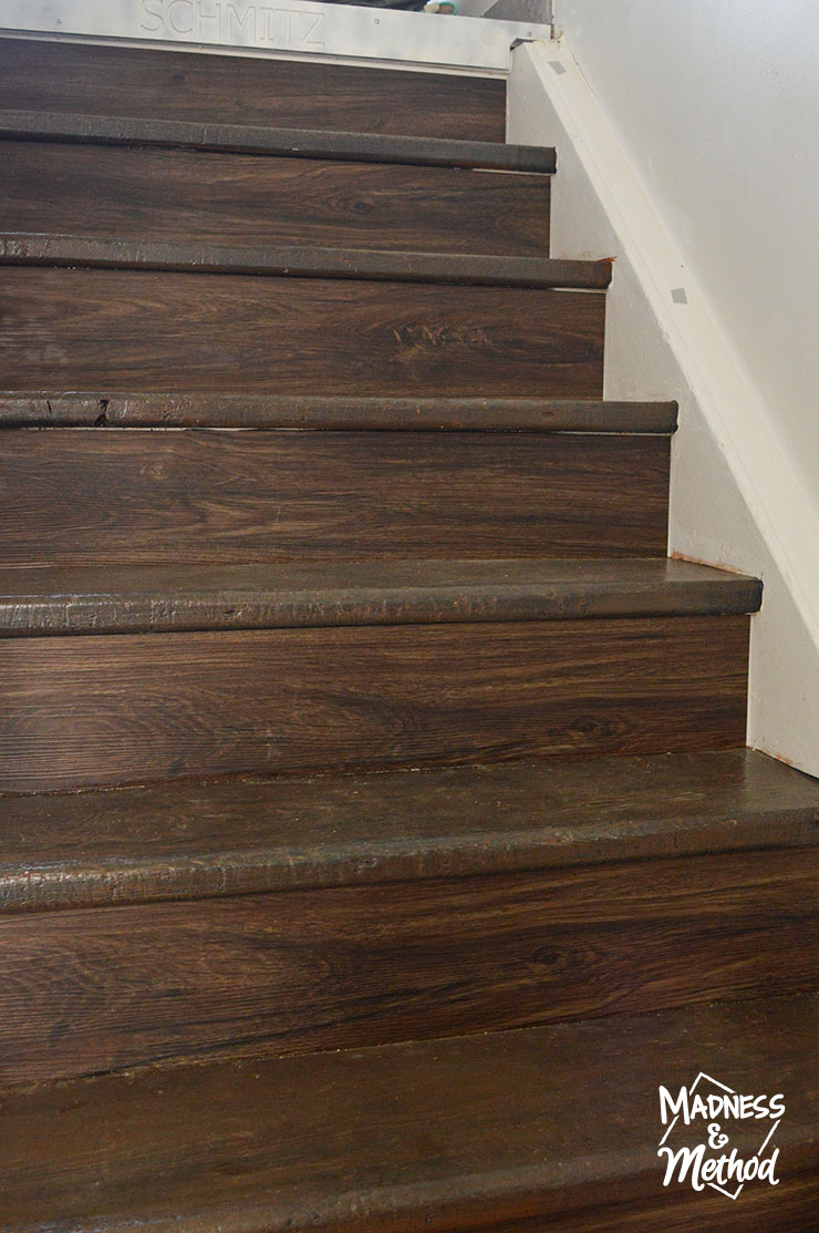 wood look staircase